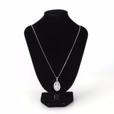 Fashion Perhiasan Berlapis Kalung Virgin Mary Liontin Kalung Perak-Internasional