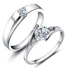 Fashion Indonesia Ngumpul Di Sini Cincin Perak Adjustable Beberapa Cincin Perhiasan E016