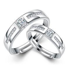Fashion Indonesia Ngumpul Di Sini Cincin Perak Adjustable Beberapa Cincin Perhiasan E024