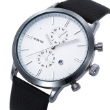 Fashion Pria Kasual Waterproof Date Leather Militer Jepang Watch Hadiah Wh Intl Not Specified Diskon 40