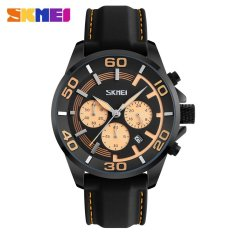 Beli Busana Pria Merek Calendar Quartz Watch Korean Style Waterproof Belt Watch Intl Online Terpercaya