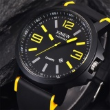Jual Fashion Men S Stainless Steel Luxury Sport Date Analog Quartz Wrist Watch Intl Oem Ori