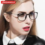 Toko Fashion Oval Glasses Black Frame Glasses Plain For Myopia Women Eyeglasses Optical Frame Glasses Oculos Femininos Gafas Intl Hong Kong Sar Tiongkok