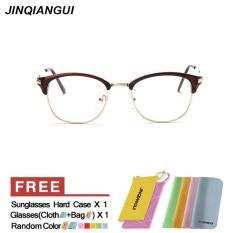 Jual Fashion Ovalnya Coklat Bingkai Kacamata Polos For Miopia Wanita Kacamata Bingkai Kacamata Optik Oculos Femininos Gafas Internasional Branded Murah