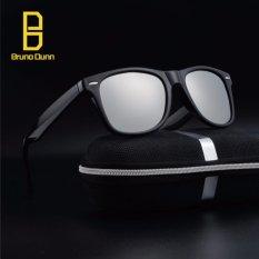 Jual Fashion Polarized Sunglasses 2017 New Woman Men Brand Designer Retro Sun Glasses Male Eyewear Ray 2140 Black Frame Silver Lense Intl Bruno Dunn Di Tiongkok