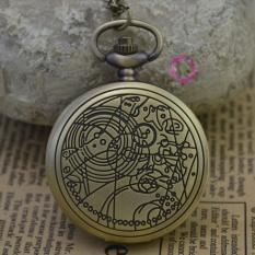Perbandingan Harga Fashion Quartz Wanita Astronomi Doctor Who Pocket Watch Kalung Klasik Vintage Antik Fob Jam Tangan Perunggu Kuno Klasik Internasional Di Tiongkok