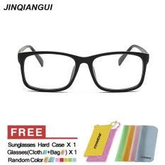 Review Fashion Bujur Sangkar Kacamata Hitam Bingkai Kacamata Polos For Miopia Pria Kacamata Bingkai Kacamata Optik Oculos Femininos Gafas Internasional Terbaru