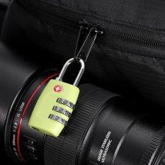 Review Fashion Resettable Digit Kombinasi Password Travel Luggage Case Lock Hijau Intl Terbaru