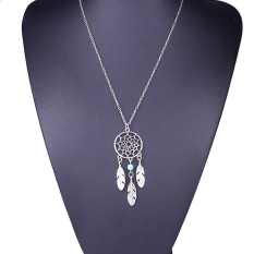 Fashion Retro Jewelry Dream Catcher Pendant Chain Necklace - intl