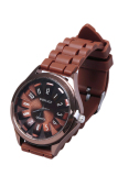 Beli Barang Fashion Silikon Watch Kopi Online