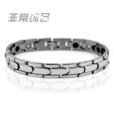 Harga Fashion Sederhana Kepribadian Pria Titanium Steel Gelang Germanium Magnet Perawatan Kesehatan Gelang Radiasi Siswa Masuknya Perhiasan Korea Intl Asli