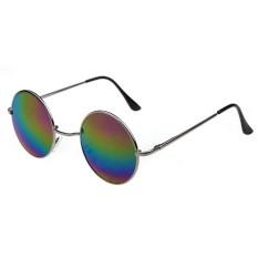 Modis Kacamata Hitam Antik Pria Wanita Kacamata Hitam Hippie Retro Sepanjang  Logam Kacamata Kacamata-Internasional 3604e7fa1b
