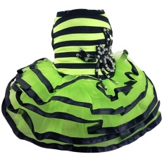 Fashion Sweet Bright Green Pet Dog Tutu Skirt Dress ClothingCostumeApparel Multi Layer Design for Daily Wedding Party HolidaySize XL