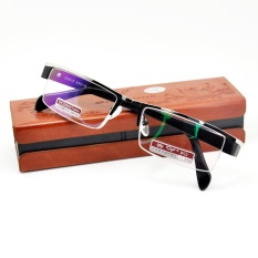Cara Beli Fashion Titanium Alloy Aspherical Kacamata Baca 3