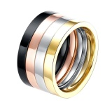 Harga Fashion Cincin Baja Titanium Tgr015 A 9 Satu Set