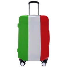 Fashion Travel Luggage Suitcase DUST Cover Pelindung Case Italy Style-Intl