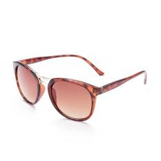 Fashion Vintage Pria Coklat Lensa Bingkai Plastik Kuning Sunglass Kacamata Mengemudi Praktis untuk Hadiah YJMH070-2