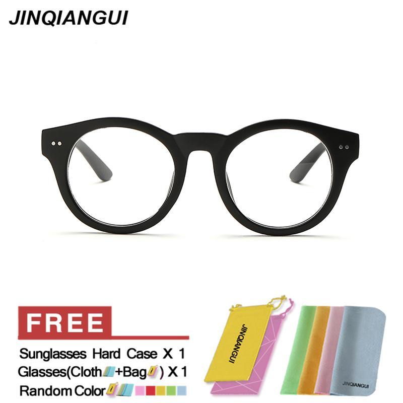 Pencari Harga Fashion Vintage Retro Kacamata Hitam Bingkai Kacamata Polos  untuk Miopia Pria Kacamata Optik Kacamata cc33b8af74