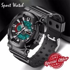 Harga Fashion Watch Pria G Gaya Tahan Air Olahraga Militer Watches S Shock Digital Watch Pria Hitam Intl New