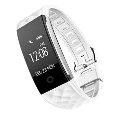 Toko Fashion Wanita Pria Bluetooth Smart Gelang Tahan Air Heart Rate Monitor Kebugaran Tracker Wireless Smartwatch Gelang Pedometer Untuk Saya Ponsel 7 6 6 S Sistem Android Smartphone Putih Intl Terlengkap Hong Kong Sar Tiongkok