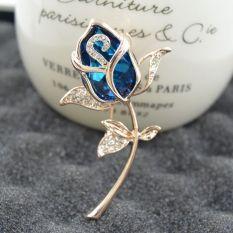 Beli Fashion Wanita Noble Champagne Champagne Crystal Individualitas Bros Oem Dengan Harga Terjangkau
