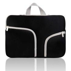 Fashion Tas Tas Ransel Tas Ransel Bag Cover Case untuk MACBOOK AIR & PRO 13 Inch & Universal Laptop Netbook 13 Inch Hitam