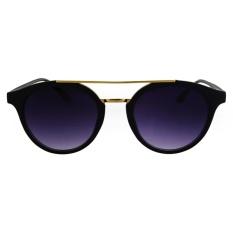 Fashionity Sunglasses AL9638 Black - Kacamata Pria dan Wanita - New Aviator  - Korea Style - 4f6b59d998