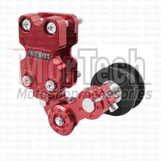Fast Bikes Tensioner - Stabilizer Rantai Motor Supra 100 cc CNC – Merah