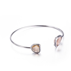 Cepat Jual Fashion Eropa dan Amerika Fashion Baru Tembaga Murni Crystal Pearl Gelang High-end Produsen Perhiasan Grosir Khusus -Intl