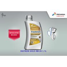 Harga Fastron Gold 0W 20 Sn Gf 5 1 Liter Termasuk Servis Pertamina Baru