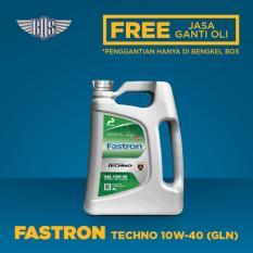 FASTRON TECHNO 10W-40 (4 Liter) - [ GRATIS SERVIS & JASA ]