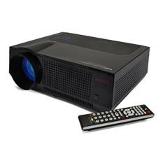 Favi 4 T Ultra-Cerah (HD 720 P) rumah Theater Projector-Versi Sebagai (Termasuk Garansi)-Hitam (RIOHDLED4T-US5)-Internasional