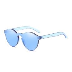 Harga Female Frameless Bening Kopel Lensa Berwarna Warni Paling Trendi Kacamata Hitam Chic Biru Satu Ukuran New