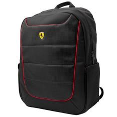Harga Ferarri Tas Laptop Backpack Piping 15 Inch Hitam Branded
