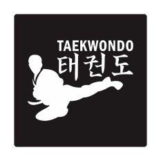 Fighterstown Cutting Sticker Taekwondo Side Kick
