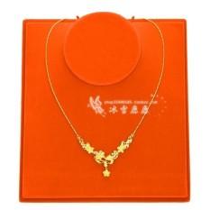 Akhirnya Tiba Barang Emas Toko Hanya Gaya Peony Menikah Kalung Gilt Pasir Emas Perhiasan Artikel Di yunnan Wanita Pengantin-Internasional