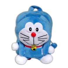 Fio Online Tas Ransel Boneka Anak - Ukuran Medium -  Doraemon - Biru