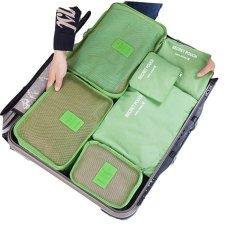 Beli Fipro 6 In 1 Bags In Bag Travel Organizer Set Hijau Online
