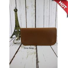 Firdaus Fashion - Dompet STNK/Gantungan Kunci Mobil Kulit Sintetis PU Simple dan Elegant