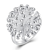 Pusat Jual Beli Fireworks Rings Japan And South Korea Silver Spherical Ring Jewelry Lknspcr001 7 Intl Tiongkok