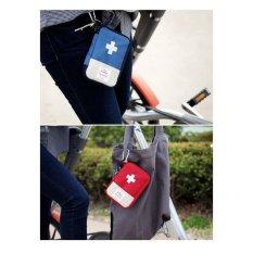First Aid Pouch / Dompet Obat- Pouch Obat Mini Pouch Serbaguna Tas Travelling Tas P3K Kotak P3K Mini Tas Obat Mini Dompet Obat Mini Tas Medis Perlengkapan Medis Perlengkapan P3K - Warna Random