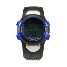 Fitness 3D Sport Exercise Watch Pulse Heart Rate MonitorandPedometer Calories Counter (Blue)(Not Specified)(OVERSEAS) - intl