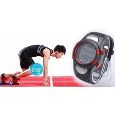 Fitness 3D Sport Watch Pulse Heart Rate Monitor WithPedometerCalories Counter (Red)(Not Specified)(OVERSEAS) - intl