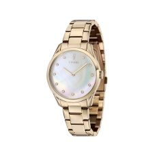 Jual Fjord Vendela Fj 6033 33 Women S Ionic Plating Gold Bracelet Watch Original