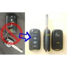 Harga Flip Key Toyota Avanza Veloz Casing Kunci Lipat 3 Tombol Asli No Brand