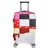 Spek Flora Tinggi Kain Elasticy 18 20 Inch Luggage Cover Koper Cover Protector Cover Only Tidak Luggage Oem