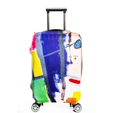 Harga Flora Stretchable Elasticy 18 20 Inch Waterproof Travel Luggage Suitcase Protective Cover Palet Desain Online