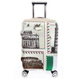 Jual Flora Stretchable Elasticy 22 24 Inch Waterproof Stretchable Koper Luggage Cover Untuk Bepergian Gaya Inggris Grosir