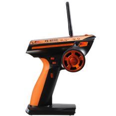 Diskon Flysky 3Ch 2 4 Ghz Remote Kontrol With Penerima Untuk Review Mobil Rc Lain Perahu Oranye