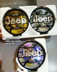 Fog Lamp Jeep 4X4 6 Inchi Kuning Lampu Sorot Lampu Kabut